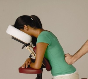 on-site chair massage