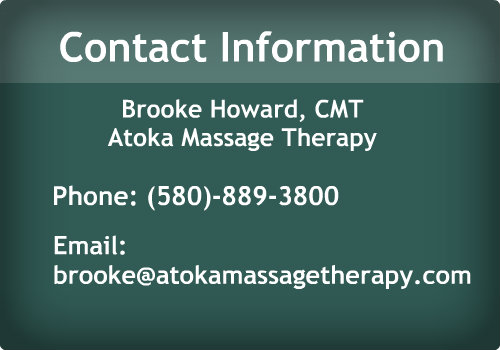 Atoka Massage Contact Info