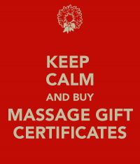 Atoka Massage gift certificates
