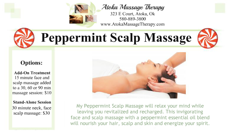 peppermint scalp massage